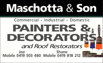 Maschotta & Son Painters & Decorators